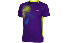 Asics Fuji  tshirt sport Homme Graphic, Top bleu